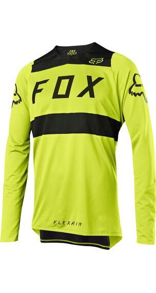 Fox Flexair Langermede Sykkeltrøyer Herre Gul